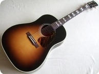 Gibson Southern Jumbo Woody Guthrie Custom Shop Antique Sunburst