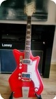 Airline Jb Hutto 1964 Red Res o glass