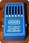 Mxr Six Band Eq Blue