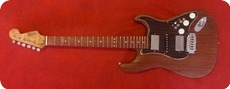 Handwood Guitars San Diego HSH Mahogany Stratocaster 2013 Natural Truoil