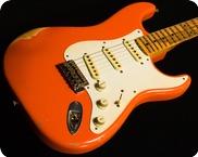 Fender Custom Shop John Cruz Relic Wildwood 2014 Fiesta Red