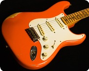 Fender Custom Shop John Cruz Relic Wildwood 2014 Fiesta Red