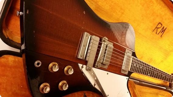 Gibson Firebird Iii 1964 Vintage Sunburst