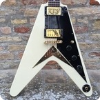 Gibson Flying V Heritage Reissue 58 FF82 1982 White
