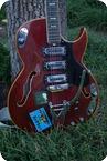 Italy Eko Dragon 1965 Cherry