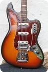 Fender Fender VI String Electric Bass Guitar 1970 Sunburst