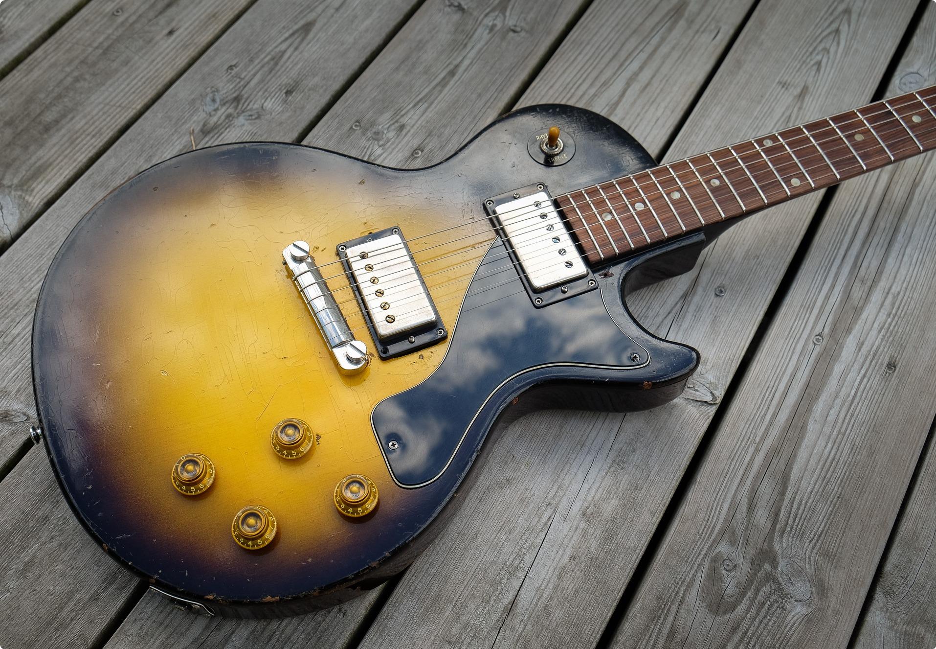 Gibson Les Paul Junior 1956 Sunburst Guitar