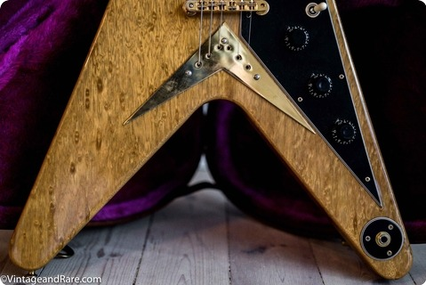 Gibson Flying V Heritage Korina 1981 Natural