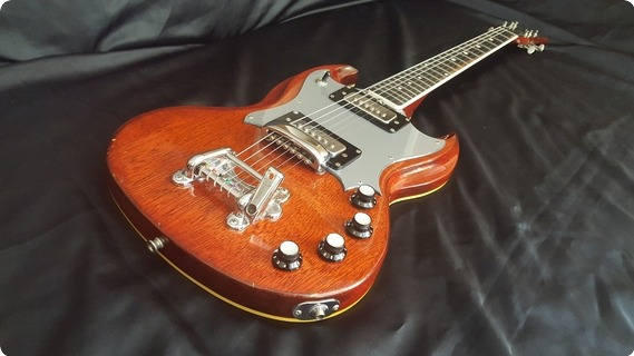 Eko Indy Sg 1972 Candy Apple Red