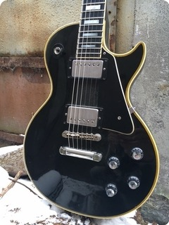 Gibson Les Paul Custom  1973 Black Beauty