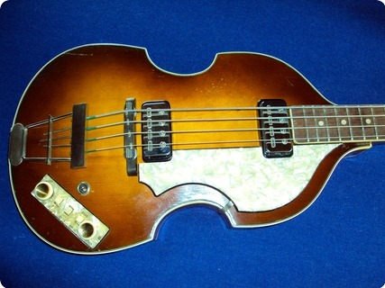 Hofner (höfner) 500/1 Beatlebass 1964 Brown/shaded
