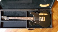 Fender Telecaster 1981 Black And Gold