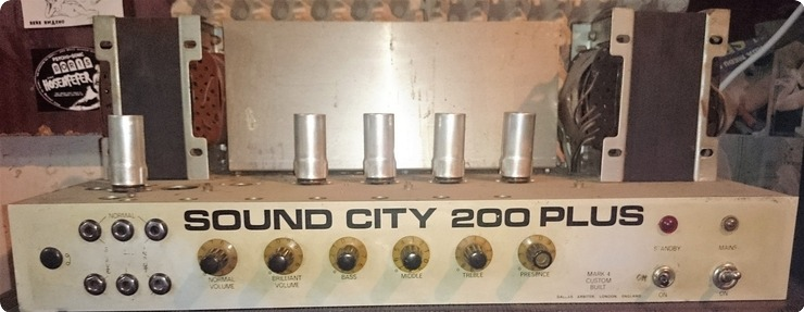 Sound City 200 Plus Mk Iv 1974