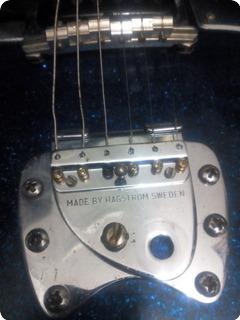 Hagstrom Deluxe A 1962 Glitter Blue