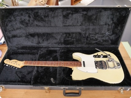 Fender Telecaster With Bigsby 1969 Olympic White