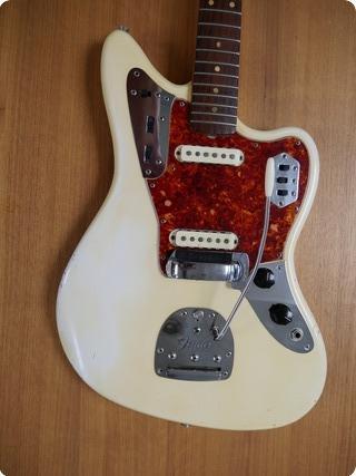 Fender Jaguar 1964 Olympic White