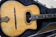 Busato Gypsy Guitar Last 1951 Natural