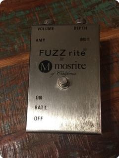 Mosrite Fuzz Rite 1968 Silver