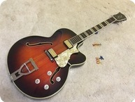 Hofner Hfner Committee Thinline Poehlert 1962 Burgundy Red