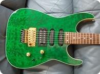 Charvel-San-Dimas-San-Dimas-IV-1995-Transparent-Green