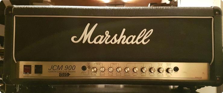 Marshall Jcm 900 Model 4100 1994