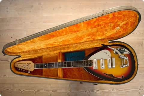 Vox Mark Vi Acoustic 1966 Sun Burst