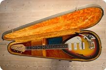 Vox-Mark VI Acoustic-1966-Sun Burst