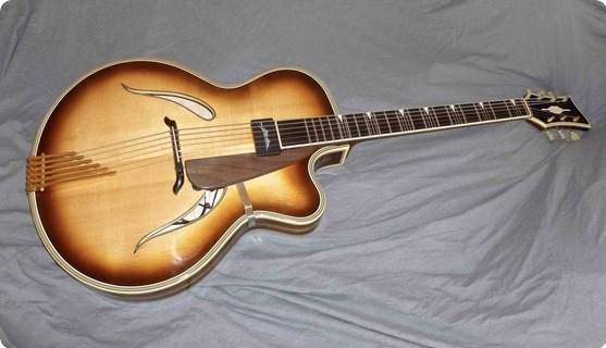 Heinz Seifert Favorit 1959 Sunburst