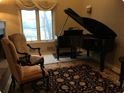 Steinway & Sons Long Model A 3 1915 Black Shiny Gloss