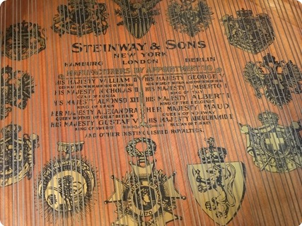 Steinway & Sons Long Model A 3 1915 Black Shiny Gloss