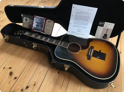 Gibson Southern Jumbo 1967 Tim Christensen Signature  2016 Sunburst