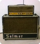 Selmer Truvoice Treble N Bass 50 With 2x12 Selmer Cab 1964 Croc Skin