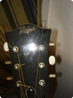 Hofner Acoustic Flattop 1968