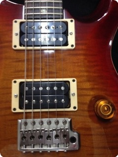 Prs Custom 24 2006 Flame Top Cherry Sunburst