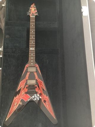 Esp Flying V Pinstriped