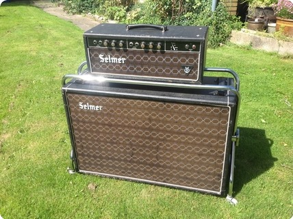 Selmer Treble & Bass 50 Mkii 1966 Black/blue/brown