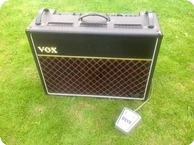 Vox AC30 Twin Reverb Rose Morris Dallas 1970 Black