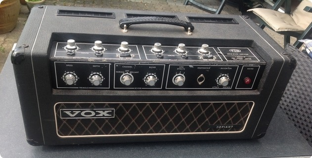 Vox / Jmi Defiant 1967 Black