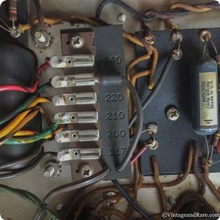 Fender Concert Amp 1962 220v Export Version