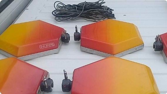 Simmons Sds V 1981 Red  Orange  Yellow
