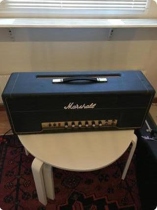 Marshall Jmp Super Bass 1967 Black On Green