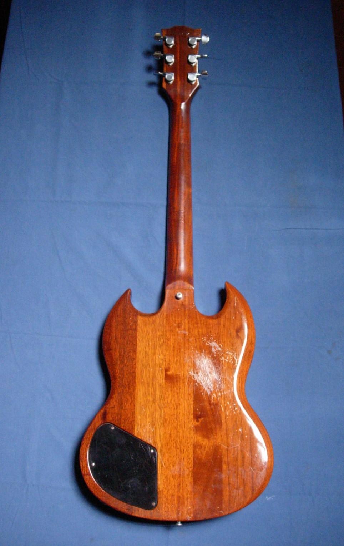 gibson firebrand deluxe 1982 natural guitar for sale. Black Bedroom Furniture Sets. Home Design Ideas