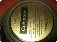 Celestion Greenbacks 1220 1966 Green