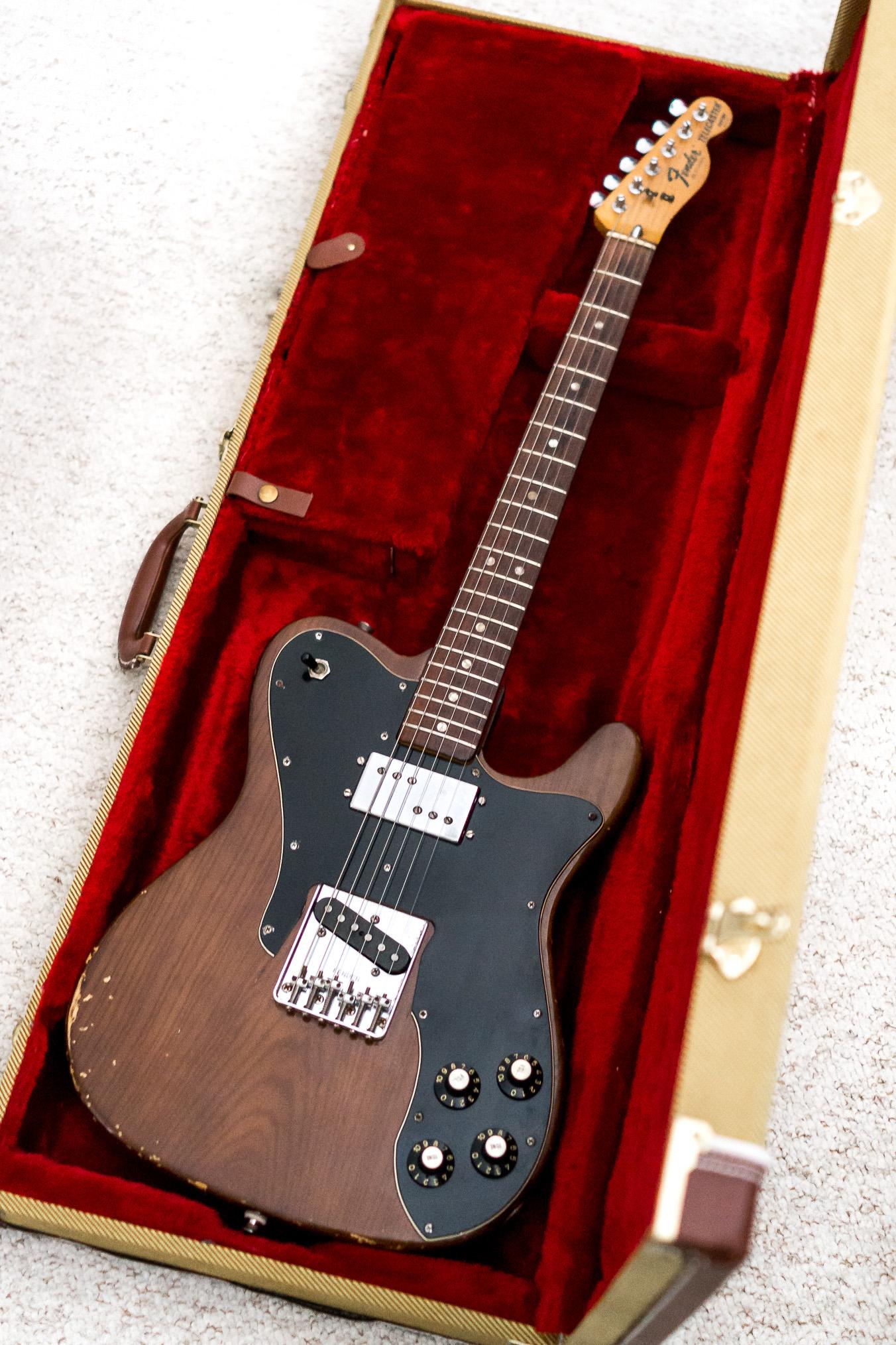 fender telecaster custom 1977 guitar for sale. Black Bedroom Furniture Sets. Home Design Ideas