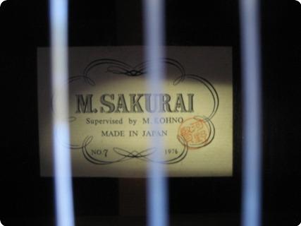M Sakurai No. 7 1976 Multi Color