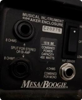 Mesa Boogie 1615 Be 450 Watt Cabinet