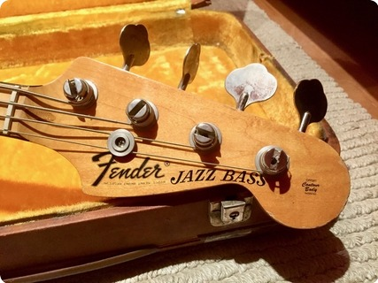 Fender Jazz Bass 1973 Natural Finish