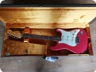 Fender-Fender Stratocaster Custom Shop 60 Relic Fiesta Red ( Specific Gary Moore )-2013