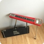Rare Jedson Lap Steel David Gilmour Pink Floyd Specification Lap Steel 1970 Red