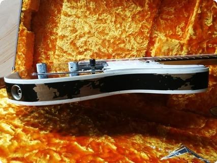 Fender  60 Heavy Relic Telecaster Custom Shop Aged Black Finish Handwound P/u's 7lbs 9oz 2017 2017